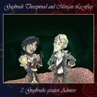Guybrush and Morgan III by Tabascofanatikerin
