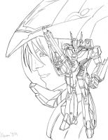 Robotech by findingwill