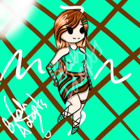 Chibi Adoptable 3 ~  name your price CLOSED by BiahAdopts