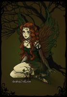 Forest Fairy by asymmetrical-wings
