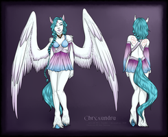 Reference Sheet::Chryxandra by Necrophagy