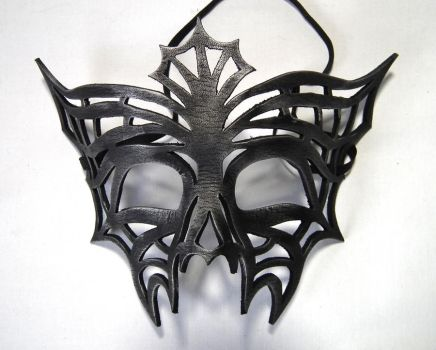 Charlotte Spider web mask by Shadows-Ink