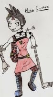 Nina Cortex's new style by labassistant008