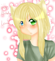 HAPPY BIRTHDAY LEONAAA by moomoko