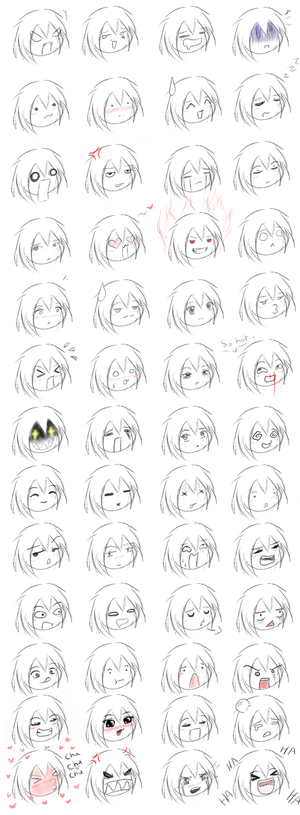 comfortable expressions