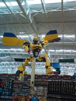 Bumblebee Pinata by cuervoscuro