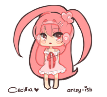 Cecillia - New OC by Artsy-ish