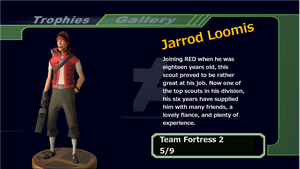 Super Smash Bros Jarrod Trophy by TheCrimsonLoomis