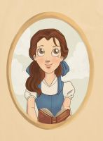 Belle Portrait by ShimmerStar