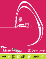 The Line Digger PureVector by Pipera