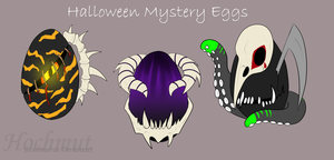 Halloween mystery egg adoptables [Open] Paypal by Hochmut