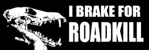 ROADKILL BUMPER STICKERS FOR PRE-ORDER! by NaturePunk