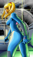Metroid Zero Mission Ending 3 by s3k94