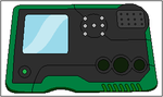 Gin's Digivice (second design) by Samjoos