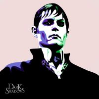 Barnabas: Inspired by Andy Warhol by SpellboundArts