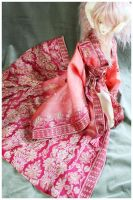 Shoppe : Pink Dawn Vintage Robe by Nezumi-chuu