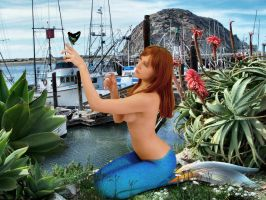 Mermaid Diana ~ California Vacation by sirenabonita