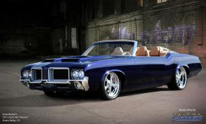 1971 Oldmobile 442 ILLUSION by reehoff-design