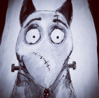 Frankenweenie Paint by loudsilence21