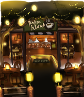 Cofeehouse and Pastry shop sketch by RD-Comics