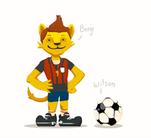 Goal: Benji and Wilson by HotCyder