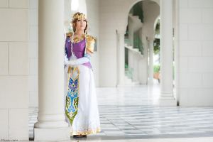 Princess Zelda Cosplay 2 - TLOZ Twilight Princess by SusanEscalante