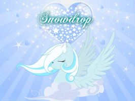 SnowDrop with Hearts~ by Mobin-Da-Vinci
