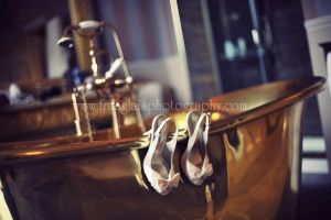 Shoes - golden bathtub by lucky-april