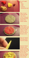 Clay Pizza Tutorial by KatRivera