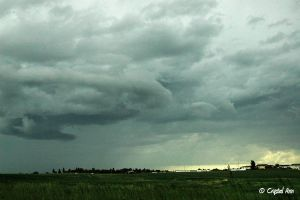 Funnel Cloud Formation by CrystalAnnPhotos
