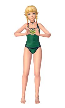 [MMD] HW Linkle Swimsuit by arisumatio
