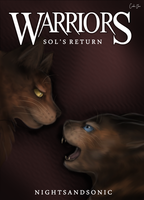 Warriors: Sol's Return Cover by CeruleanOasis