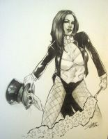 Zatanna In The Hat by ConceptsByMiller