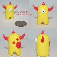 Gerard the Timid Monster by TimidMonsters