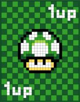 1-up quilt plans by invader-gir