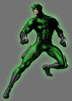 Green Lantern Daredevil by Lord-Lycan