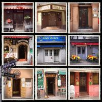 Doors of Frankfurt am Main by Milanogreg