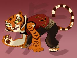 Master Tigress by Graystripe64