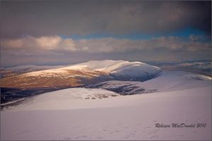 Blencathra from Skiddaw by Rebacan