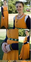 The Jaffa Dress by Kathelyne
