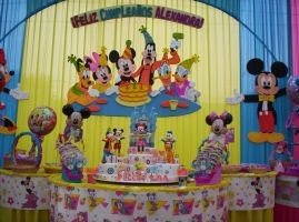 Decoracion de la fiesta de Mickey Mouse by Artematico