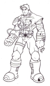 Cable INKED 07 by LucasAckerman