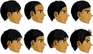 Male Hairstyle Full ver. by apielang