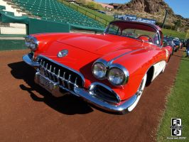 1958 Corvette by Swanee3