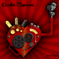 Cardio-Dynamo: Steampunk Heart by TheNimbus