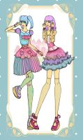 Decora Dream: Girls-Junior Spring by Mysterious-Aya