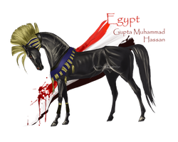 Horse Hetalia: Egypt by MUSONART