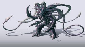Protoss Zerg Hybrid Colour by Tokoldi
