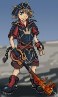 Samurai Sora by LynxGriffin
