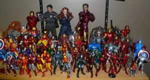 Iron Man Collection 001 by GuyverC